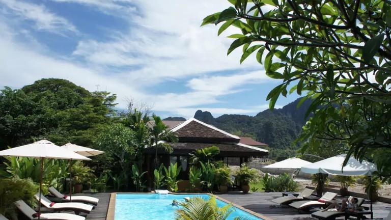 Pool | © Villa Vang Vieng Riverside/Hotels.com