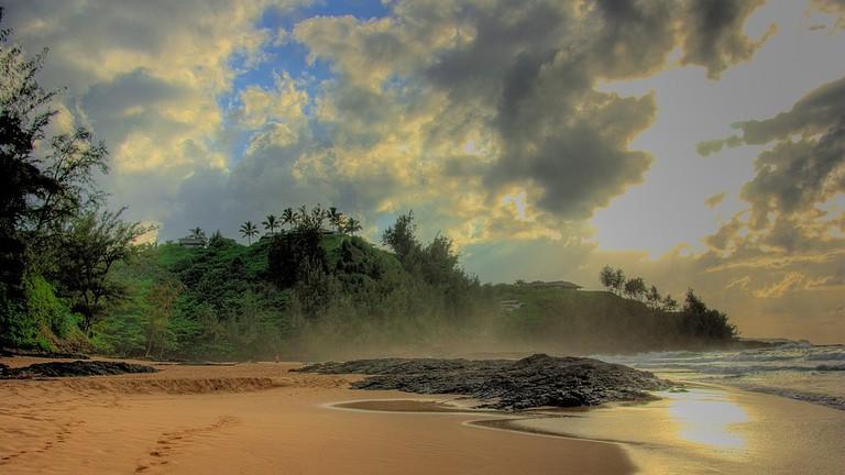 Secret Beach kauai   © Bryce Edwards/WikiCommons