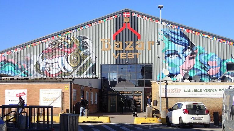 Bazar_Vest_shopping_mall_market_Aarhus
