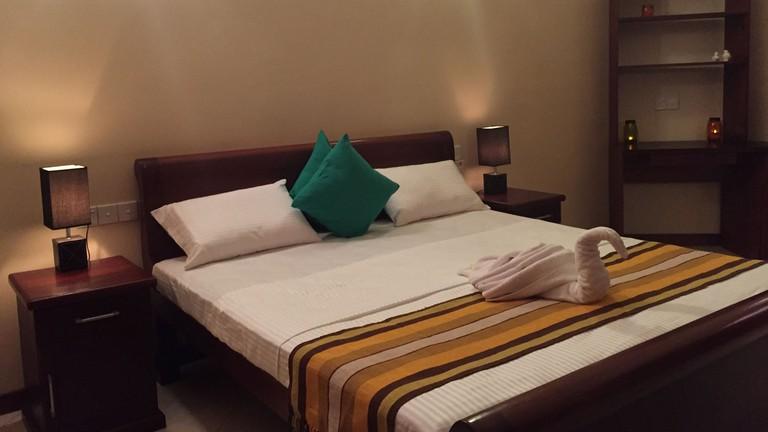 Comfortable rooms at Saladura Villa in Colombo 7