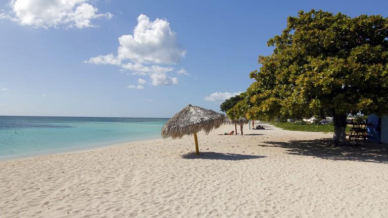 Playa Ancon, near Trinidad, Cuba