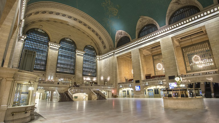 Blizzard of 2015: Empty Grand Central Terminal