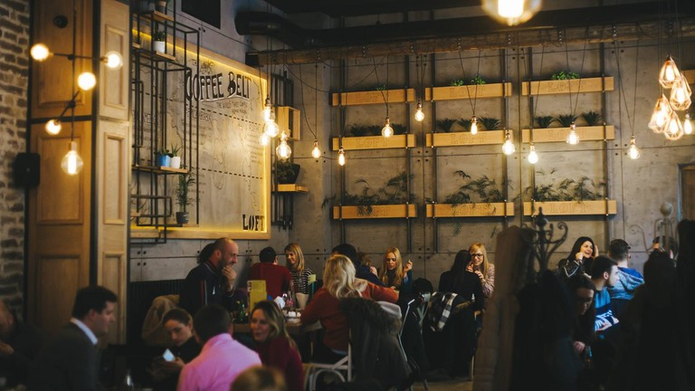 Loft is one of the busiest cafes in town