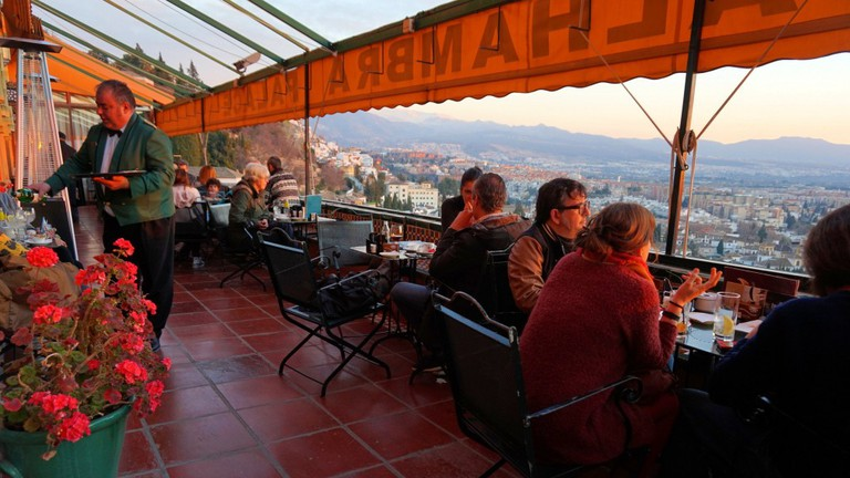 Alhambra Palace Restaurante, Granada