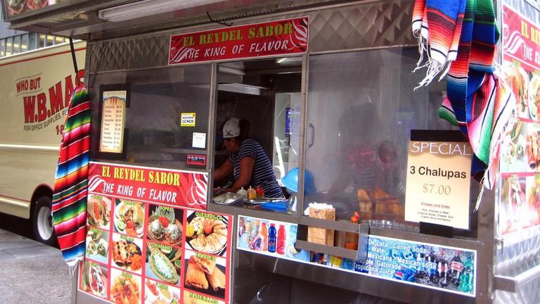 """El Rey del Sabor is a food truck with no """"inside dining"""""""