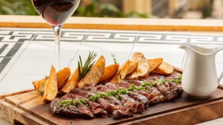 Australian steak: a favourite on the menu