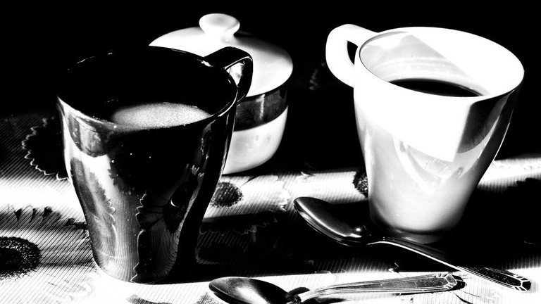 Coffee is seen as a basic human need in Provence