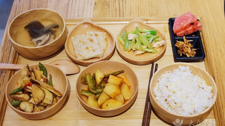 Yi Liang Fan's lunch set