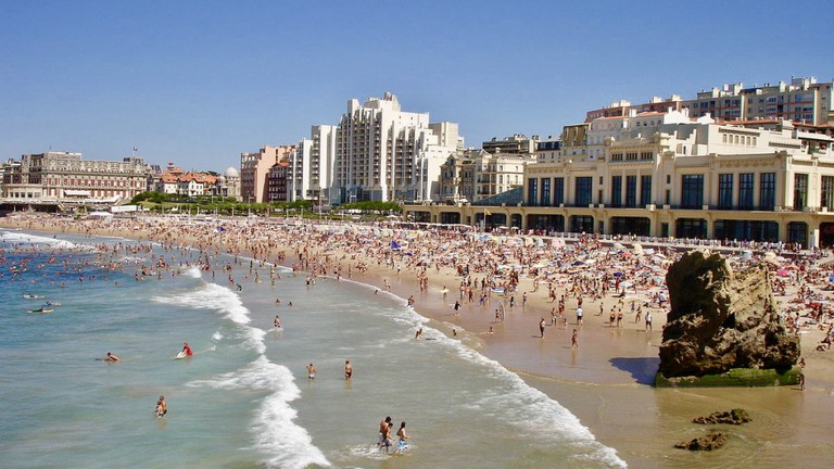 The iconic Grande Plage