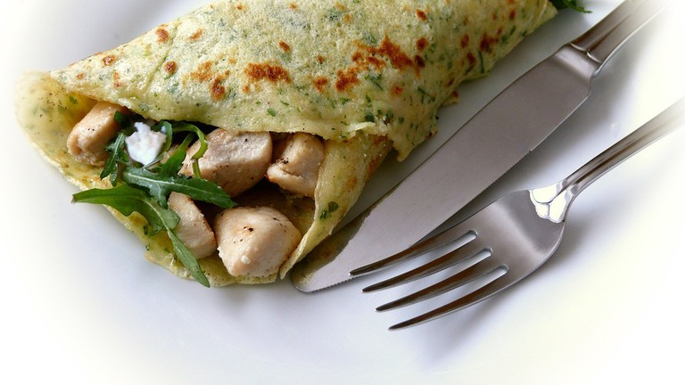 Crêpes are from the north-west of France