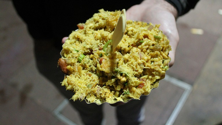 Chaat, a delicious Indian snack