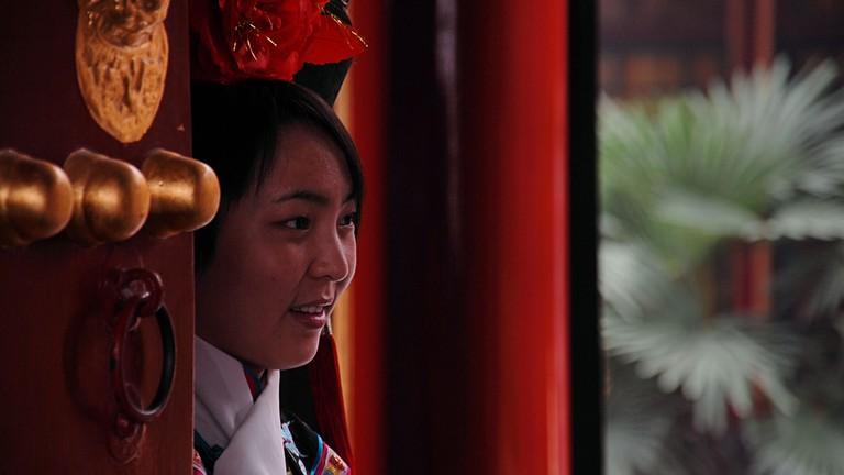 Fangshan Restaurant, Beihai Park, Beijing, China