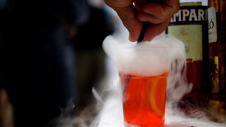 Liquid Nitrogen Drinks