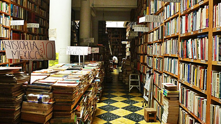 Literacy may be low in Mexico City, but demand for used, English language books is high