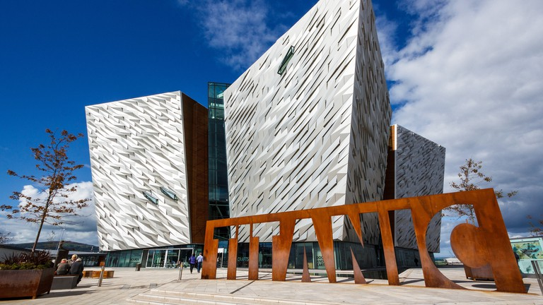 Titanic Belfast was 'Europe's Top Attraction' in 2016