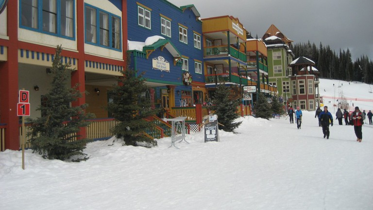 Silverstar Village offers a variety of activities