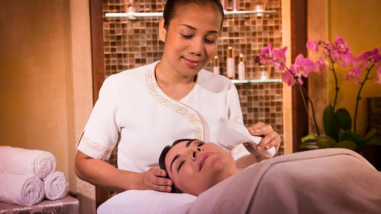 Skin treatment at ShuiQi Spa