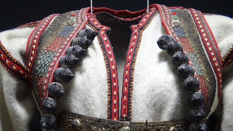 Traditional costume in the Ethnographic Museum