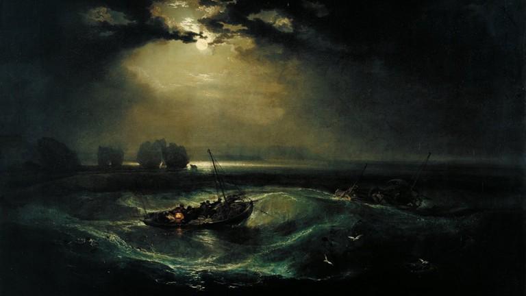J.M.W. Turner, Fishermen at Sea, 1796