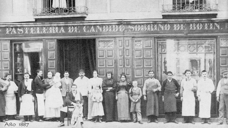 Botín, back in the day