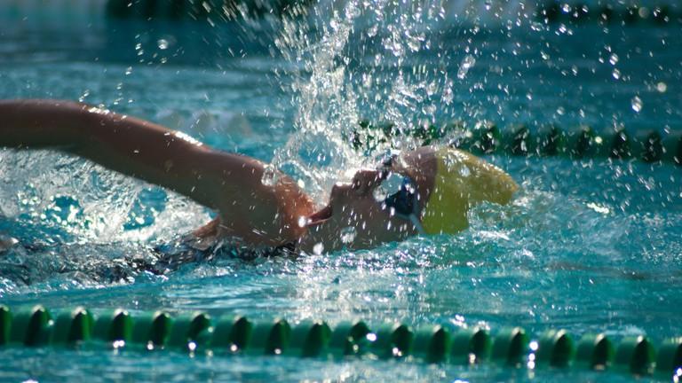 Texas swim meet