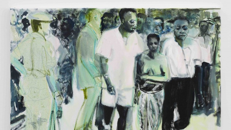 The Widow by Marlene Dumas, courtesy of Defares Collection and Zeno X Gallery