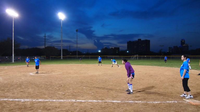 Kickball in Austin