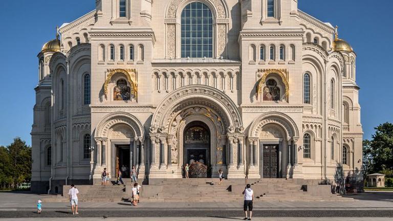 Naval Cathedral of Saint Nicholas in Kronstadt
