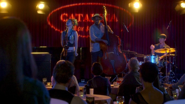 Grace Kelly performs at the Catalina in an episode of Bosch
