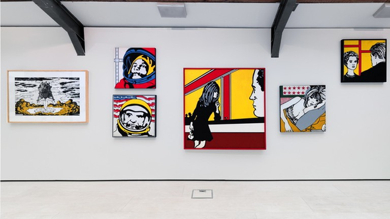 Installation view of Claudio Tozzi