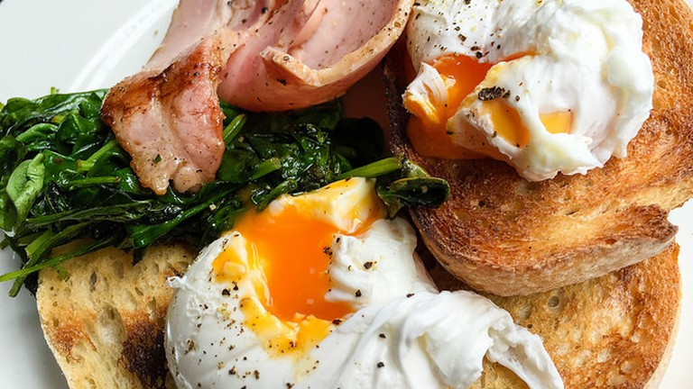 Soft Poached Eggs