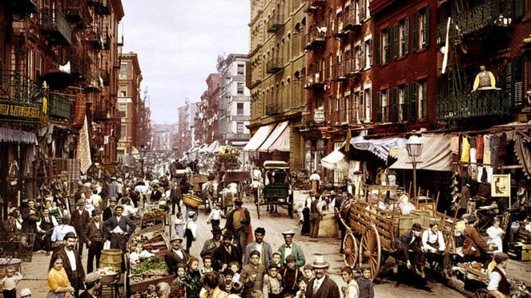 NYC's 'Little Italy' on Mulberry Street