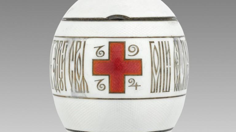 Imperial Red Cross Egg