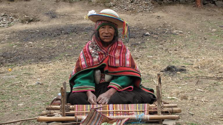 Indigenous Weaver