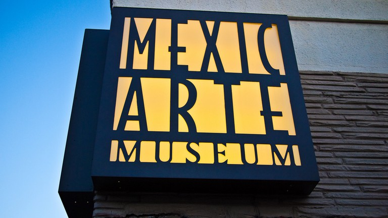 Mexic-Arte Museum on Congress