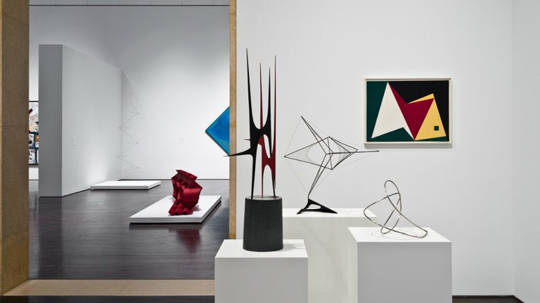 Installation view of Latin American Art Galleries
