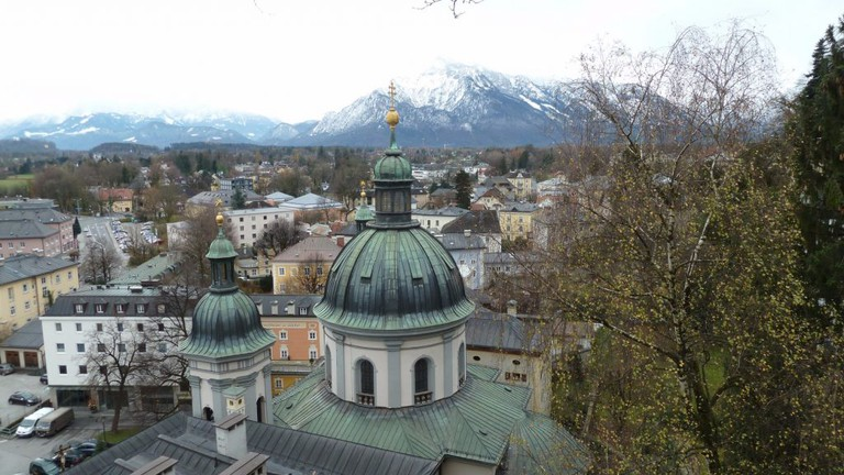 The View From Nonnberg