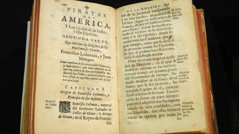 Old books on the Spanish Empire in Seville's Archive of the Indies