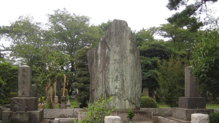 Grave of Nobuaki Makino and his wife, Aoyama Cemetery