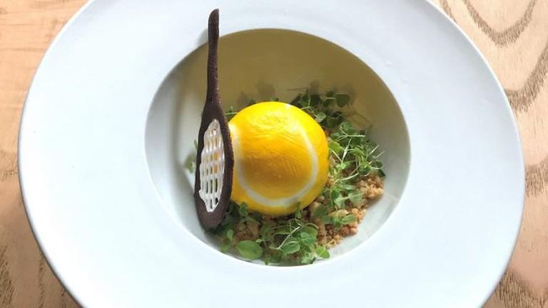 Wimbledon dessert at Eneko