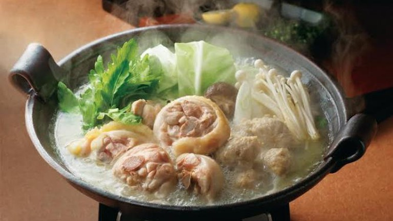 A signature dish at Hanamidori