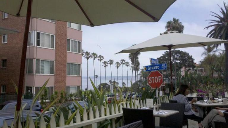 Ocean View from deck of Cody's La Jolla