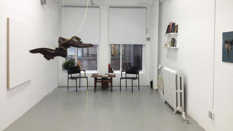 Installation view at Monitor Studio, New York
