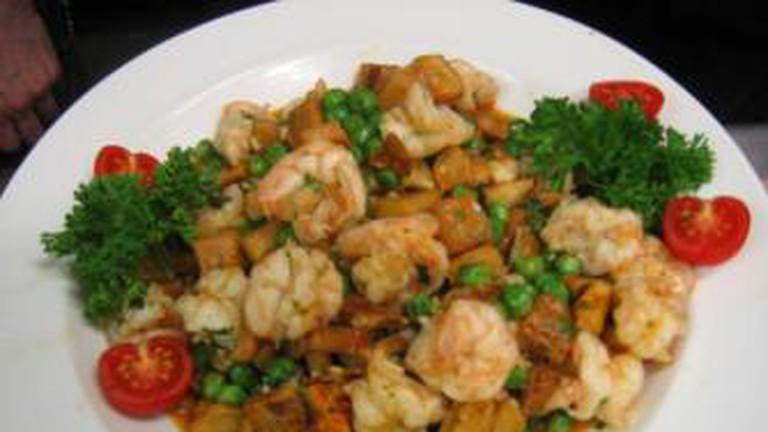 Shrimp Clemenceau