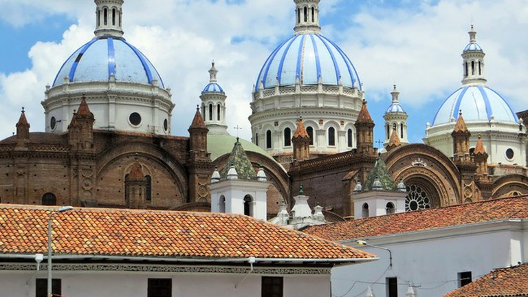 Domes of the New Cathedral, Cuenca