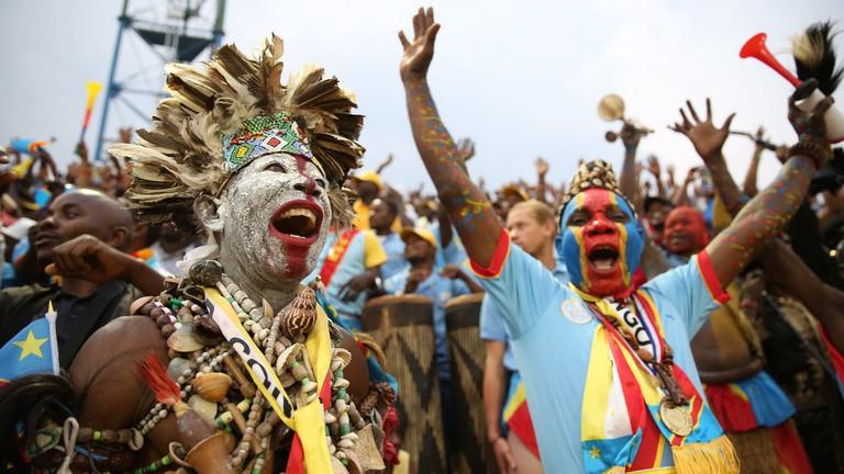 Fans at Amahoro National Stadium