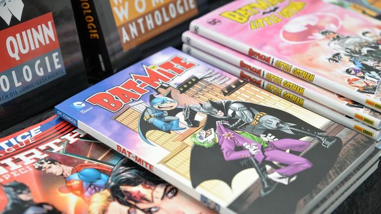 Selection of comic books