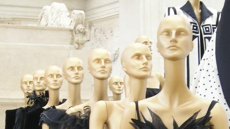 Display of Valentino dresses
