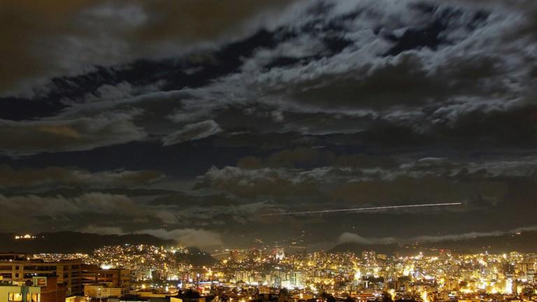 Quito, Ecuador at Night