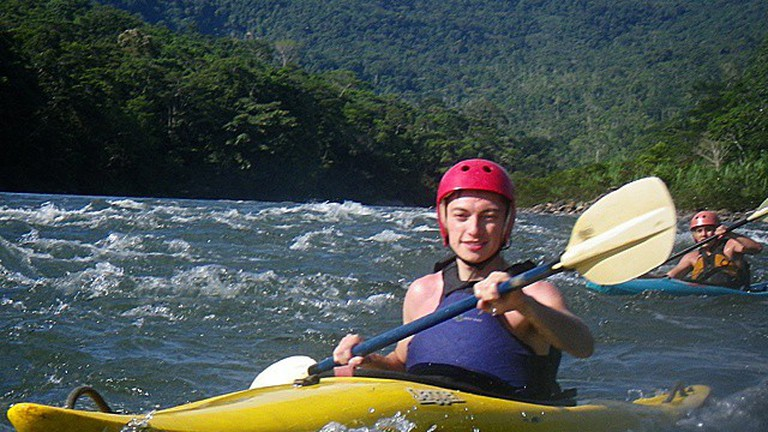 White Water Kayaking, Ecuador